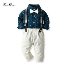 Tem Doger zestawy ubrań dla niemowląt 2019 noworodka zestaw ubrań dla chłopców chłopców gwiazdy koszule + ogólnie 2 sztuk stroje niemowląt Bebes Boy odzież tanie tanio COTTON W wieku 0-6m 7-12m 13-24m CN (pochodzenie) Mężczyzna Moda O-neck Pojedyncze piersi Pełna REGULAR Pasuje prawda na wymiar weź swój normalny rozmiar