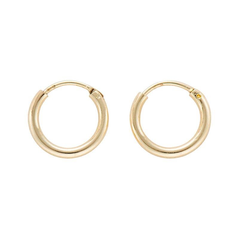 Дикие и свободные серьги-кольца в форме звезды для женщин, золотые медали, крест, маленькие глаза, крошечные обручи Huggie, серьги, стразы, минималистичное ювелирное изделие - Окраска металла: Style 8