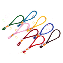 5 PCS Macrame Rope Bracelet Handicraft Multi Color Lanyard Silver Bead Pendant Sling String Wholesale Dropshipping