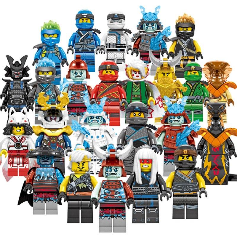Airjitzu Ниндзяго мотоцикл команда Строительные блоки Набор кирпичей Классические мини-фигурки из фильма модель детские игрушки для Chil