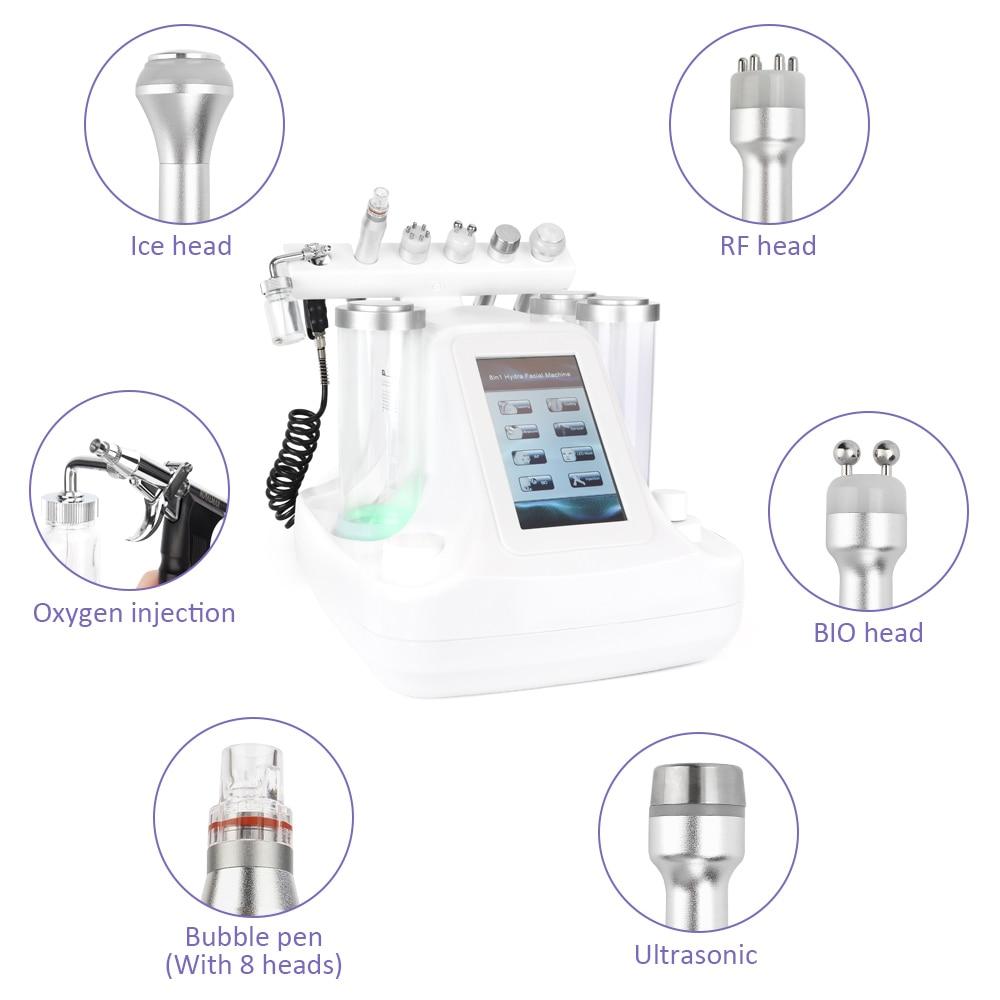 facial máquina de massagem bio luz dispositivo cuidados com a pele