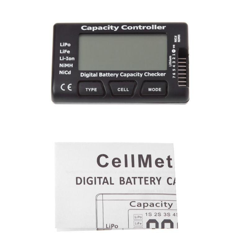 RC CellMeter-7 Digital Battery Capacity Checker For Nicd NiMH LiPo LiFe Li-ion