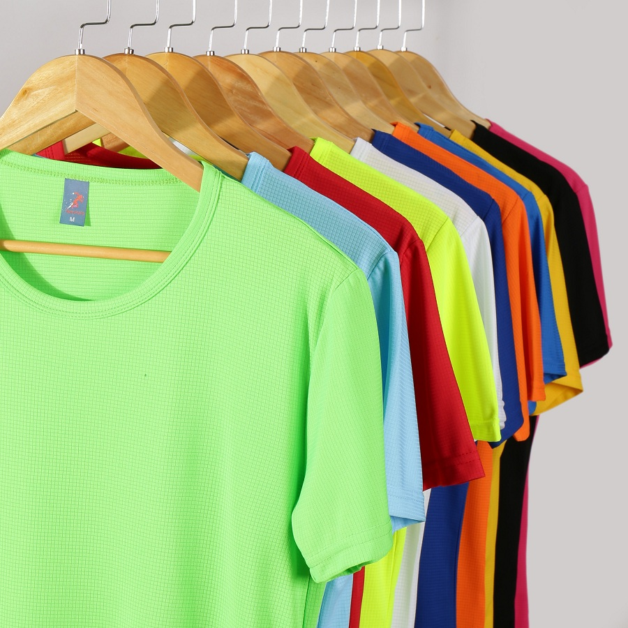 11 Color New Men's T-shirt Short Sleeve Running Sports Top Outdoor Fitness Quick Drying, Ventilating And Sweat Wicking