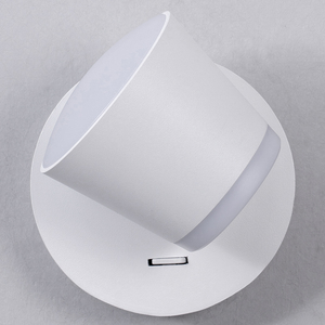 Image 5 - 360 조정 가능한 LED 벽 램프 머리맡 조명 통로 벽 마운트 Luminaire Sconce 현대 호텔 벽 조명
