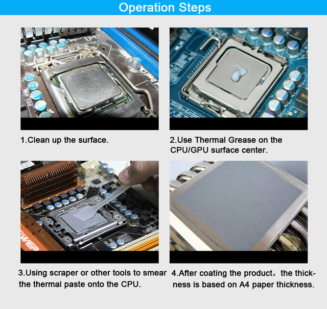 ARCTIC MX-4 2g 4g 8g 20g AMD Intel Processor CPU Cooler Cooling Fan Thermal Grease VGA Compound Heatsink Plaster Paste 3