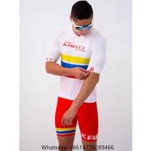 Kafitt Cycling Jersey men short sleeve suit custom clothing jersey set mtb pro riding roadbike clothes maillot ciclismo