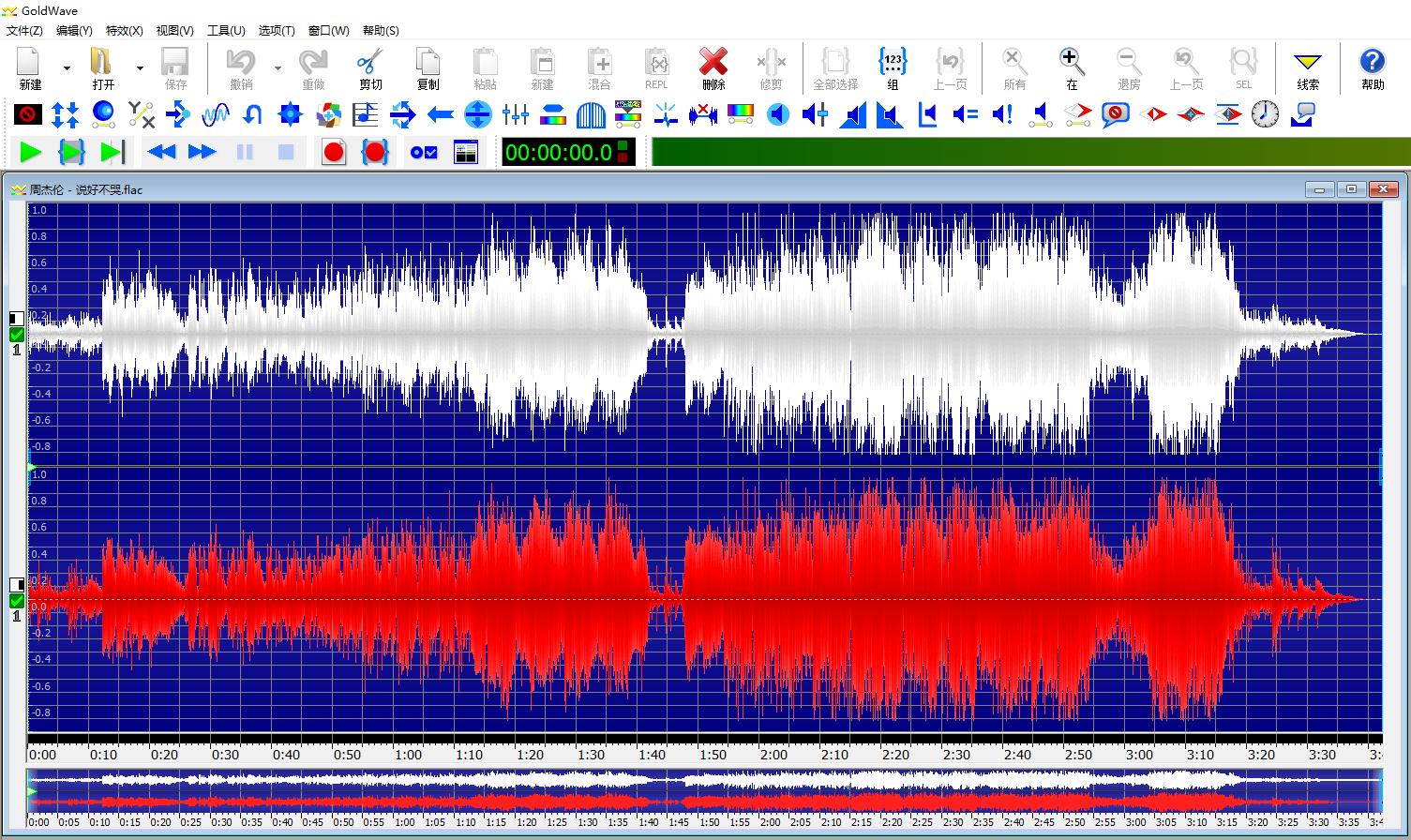 GoldWave 音频编辑工具 v6.41 最新绿色破解版分享的图片-高老四博客