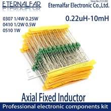 0307 1/4 Вт 0410 1/2 0510 1 цветные кольцевые индукторы dip