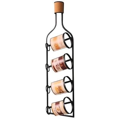 retro wrought iron wine rack restaurant bar wall decoration wine holder american style wall decoration wall mounted wine rack