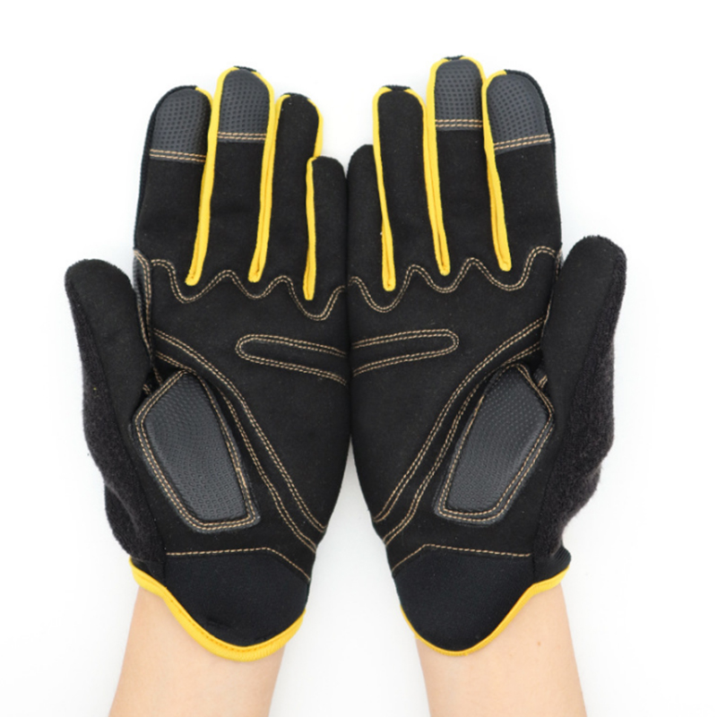 Mechanical Work Gloves Flex Extra Grip Unisex Working Welding Safety Protective Garden Sports Gloves