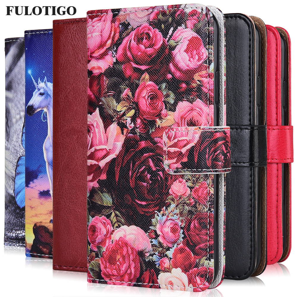Case For On Huawei P30 Honor 7A 8S Prime 30 Play 9A 4T Pro Plus Cover Plain Wallet Case For Huawei nova 7i 7 SE Pro 5G Cute Case(China)