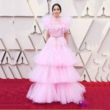 Розовые коктейльные платья русалки 2020 сексуальное арабское