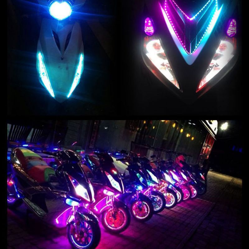 90cm LED Strip Light Bar Lamp For Car Motorcycle Electric Scooter Skateboard Night Light New Arrival in stock