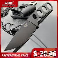 Sanrenmu S601 Feste Klinge Messer 8cr13 edelstahl Klinge Camping HuntingTactical SurvivalTool überleben edc mit mantel 7130