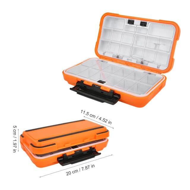8FB0 ABS Plastic Foam Fly Fishing Lure Bait Hook Storage Case Box Tool Useful