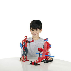 Image 5 - Marvel Legends 30cm Spiderman Toys Set Titan Hero Series Copter Action Figure 11.8 Inches New Year Gifts Toys for Boys