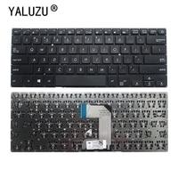 YALUZU NEUE US laptop tastatur FÜR ASUS E406 L406 E406M E406MA E406SA3160 E406S US laptop tastatur-in Ersatz-Tastaturen aus Computer und Büro bei