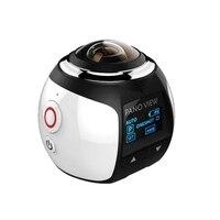 360 Degree VR Action Camera Panorama Ultra High Definition Video Waterproof DV 4K HD 1080P Camera
