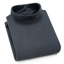 Aoliwen fleece futter rollkragen Sweatshirt Pullover winter Plus samt verdickung halten warme Weiche lange hülse fit gute qualität