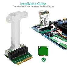 Newst MINI PCI-E PCI Express ADAPTER mSATA SSD mSATA Riser สำหรับ 3G 4G WWAN LTE GPS โมดูล mSATA การ์ด(China)