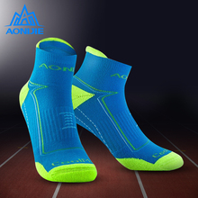 AONIJIE Coolmax Sports Socks Mens And Womens Cotton Slippers Breathable Support Knitted Unisex Top Quality