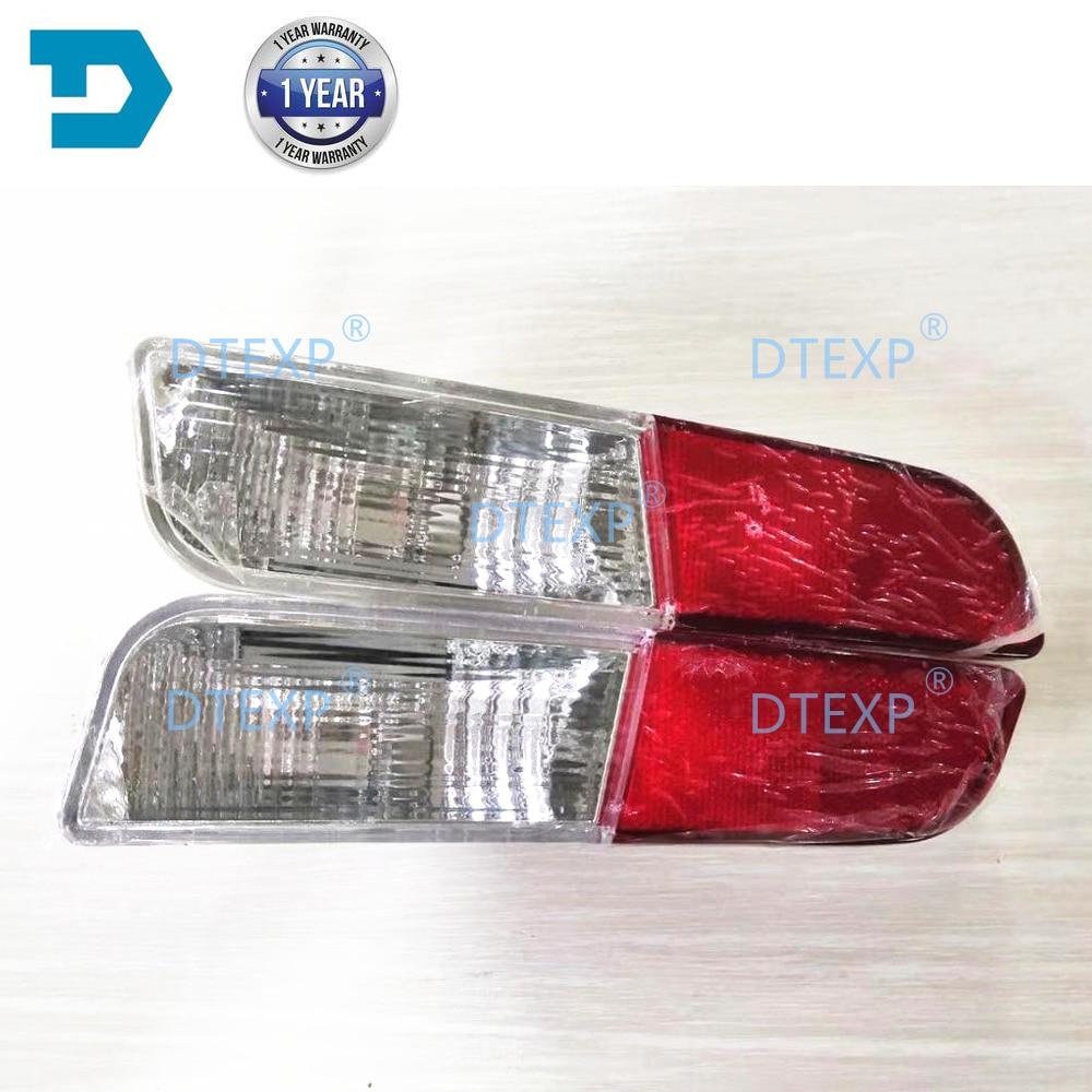 2013-2016 REAR STOP LAMP FOR Outlander Rear Bumper Light FOR Airtrek Rear Fog Lamp Without Bulb Warning Lights