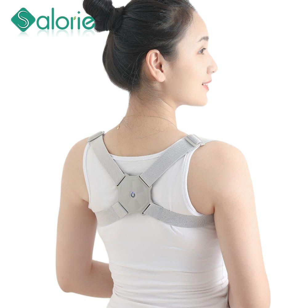 Новый Регулируемый умный Корректор осанки для спины, Интеллектуальный поддерживающий пояс, тренировочный пояс для коррекции позвоночника