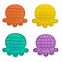 Stress Reliever Fidget-Toys Bubble-Sensory Autism Soft-Pop Child It Focus on Needs