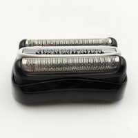 Tête de remplacement pour Braun 32B 32S 21B série 3 rasoirs 301S 360S 3020S soins personnels accessoires de rasoir électrique noir