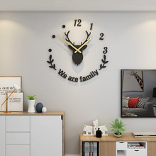stylish circle mirror wall clock stickers home decals MEISD Large Wall Watch DIY Mirror Wall Stickers Clock Wall Clock Quartz Silent Living Room Home Decor Free Shipping