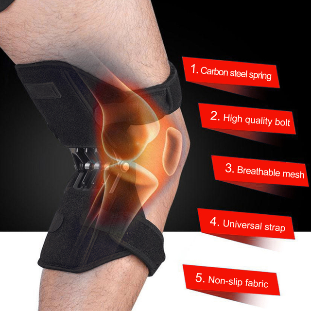 Knee Protecting And Supporting Resistance Strap, For Recovery Or Weak Knee Support 5