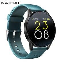 Kaihai smartwatch, relógio inteligente monitor de sono, frequência cardíaca, saúde, rastreador fitness, para android e ios