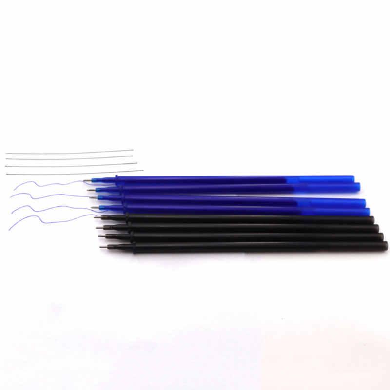 12/20 ชิ้น/เซ็ตสำนักงานเจลปากกา Erasable เติม Rod Erasable ปากกาล้างทำความสะอาดได้จับ 0.5 มม.สีน้ำเงินสีดำสีเขียวโรงเรียนเขียนเครื่องเขียน