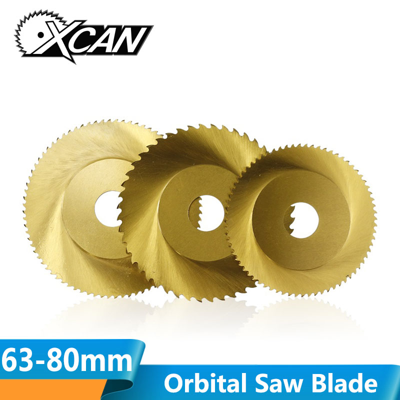 XCAN 1pc 63mm 68mm 80mm 44T 64T 72T 80T Circular Orbital Saw Blade Stainless Steel Pipe Tube Cutting Saw Blade-in Saw Blades from Tools