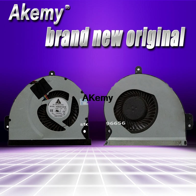 LAPTOP CPU COOLER FAN FOR ASUS  A43S X53S K43S K53S KSB06105HB 100/% FULLY TESTED