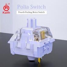 10pcs Kailh Polia 스위치 게임기 키보드 diy 스위치 RGB/SMD MX 스위치 advance 촉각 handfeeling 3ins/5pins
