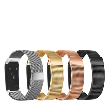NEW Fashion Magnet Clasp Wrist Strap Milanese Replaceable smart Watch Band for Huami Amazfit COR Strap Metal Bracelet Accessory