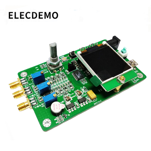 Módulo generador de señal, función DDS, programa de envío, Compatible con 9851, función de barrido, TFT, color, LCD, generador de señal