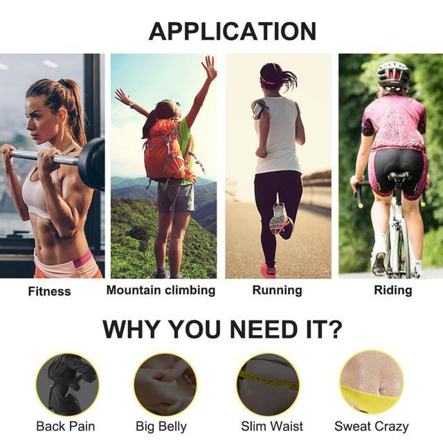 Feelingirl Arm Shaper for Women Fat Burner Shapewear Body Shapers Belt Wraps Ultra Sweat Warmers Slimmer Arm Leg Trimmers Wraps 2