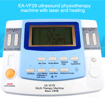 Ultrasound medical device with laser tens e-cupping EA-VF29