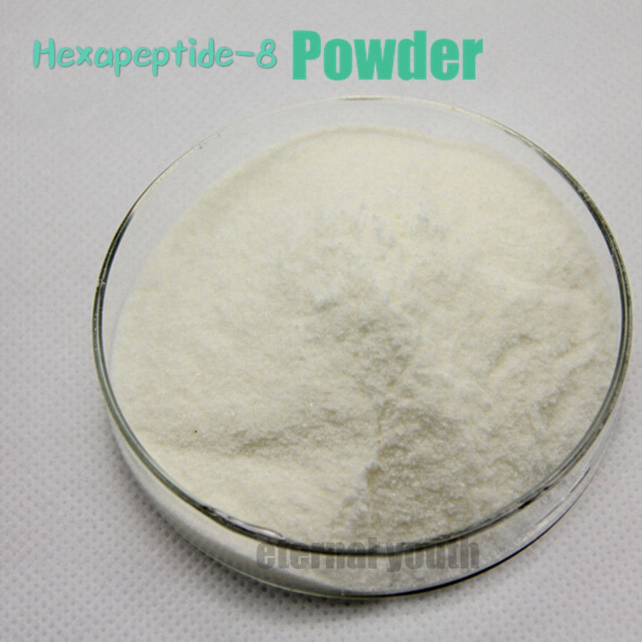 99% Are Ginine Powder High Quality Cosmetic Ingredient Acetyl Hexapeptide-8 Anti Aging Ageless Skin Care 10-1800g