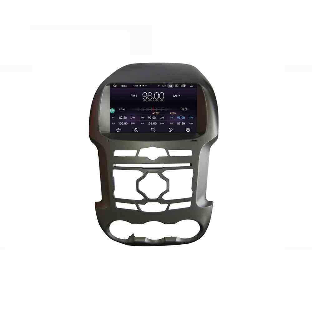 """9 """"アンドロイド 9.0 RAM2G 車の gps dvd プレーヤーフォードレンジャー 2011 2015 F250 車ラジオマルチメディアナビゲーションのステレオヘッドユニット dsp"""