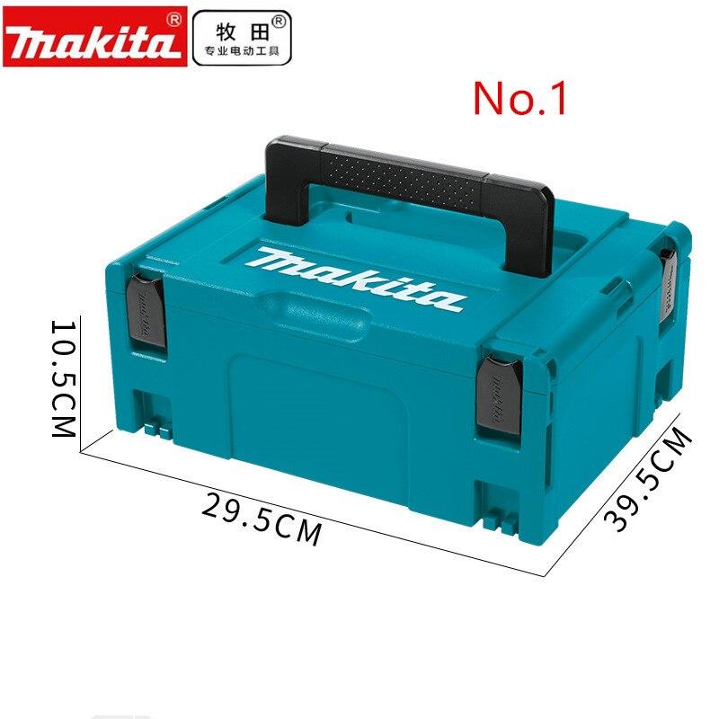 Makita MAKPAC Stacking Connector Tool Case TYPE 1 396 X 296 X 105 For  DA331D DF030D DF330D HP330D TD090D TW100D HP1631 HP1640