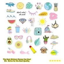 Стикеры для девочек kawaii vsco 35 шт детские игрушки водонепроницаемые