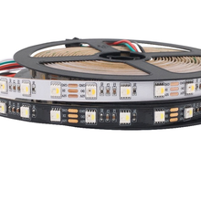 SK6812 12V RGBW LED Strip Light(Similar WS2812B) 5m 60LEDs Individual Addressable RGBWW Led Lights IP20/65/67