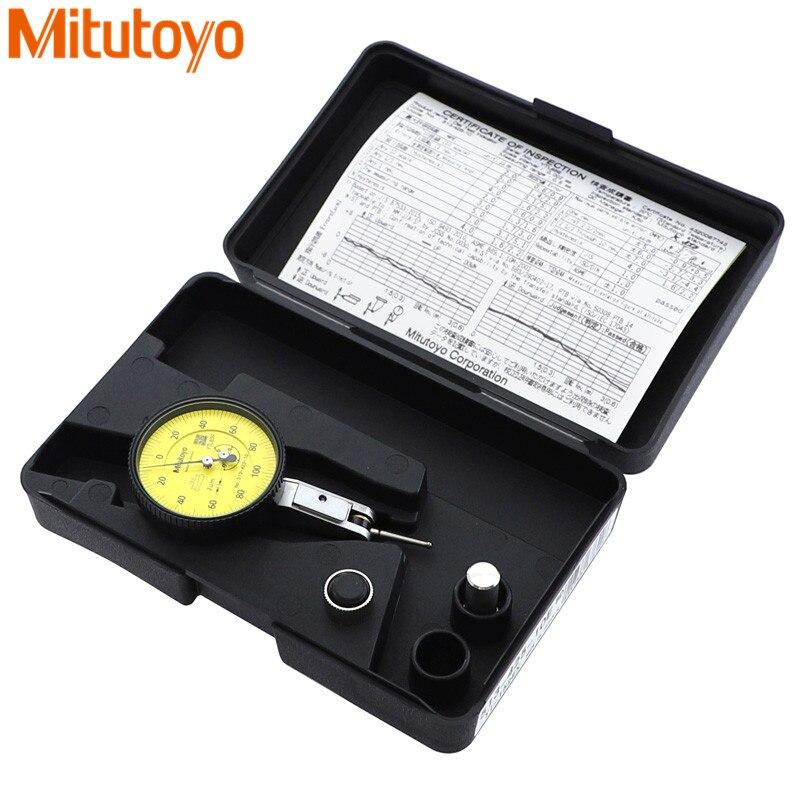 100% Original Japão Mitutoyo Indicador Dial 0 513-425E-0.6mm/0.002mm Micrômetro Dial Medidor de Teste de Ferramentas De Medição