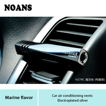 NOANS Auto Car Solid Perfumer Styling Air Freshener Clip Accessories For Ford fiesta ranger Honda Accord 2003-2007 Citroen C5 C3 image