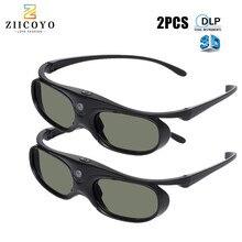 2 قطعة مصراع نشط 96 144 هرتز قابلة للشحن نظارات ثلاثية الأبعاد ل BenQ Acer X118H P1502 X1123H h6517عبد Optoma JmGo V8 XGIMI العارض