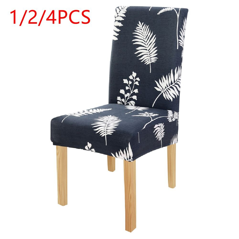 Chair Cover Spandex Removable Anti dirty Seat Cover Kitchen Slipcover for Banquet Dining Restaurant housse de