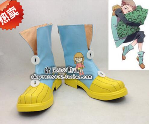 The Seven Deadly Sins King Harlequin shoes cosplay Grizzly's Sin of Sloth shoes cosplay